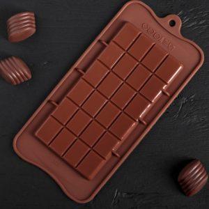 Форма «Плитка» для шоколада 06