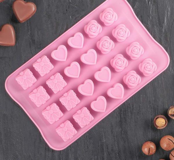 Форма для шоколадных конфет 07