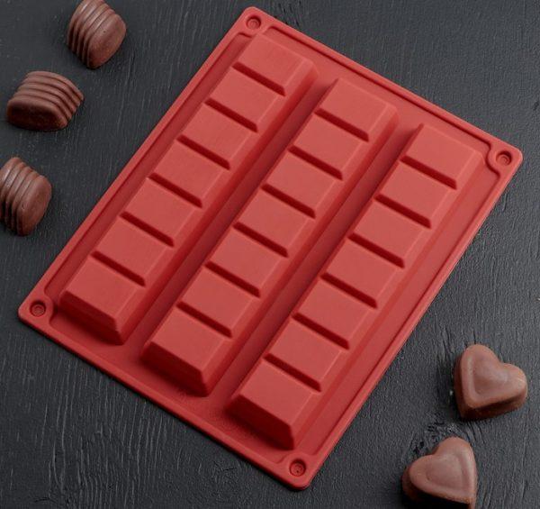 Форма «Шоколадные Плитки» 09