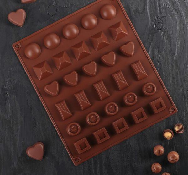 Форма «Шоколадный набор» 03