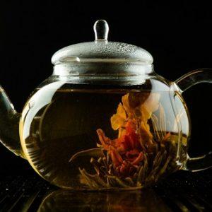 Зеленый чай Папайя в шелковых мешочках