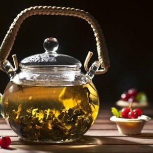 Зеленый чай для желудка #3