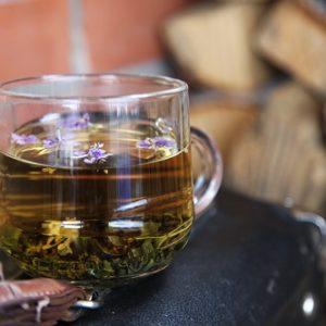 Зеленый чай от вздутия живота